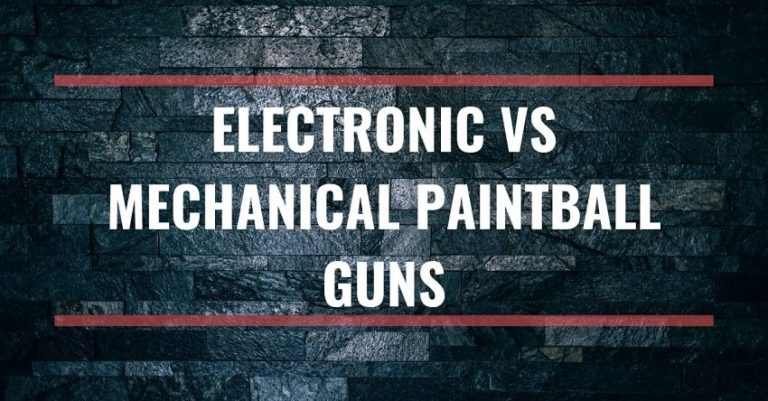 Electronic vs Mechanical paintball guns